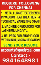 Recruitment Advertisement in Newspaper | Book Online Job, Situation