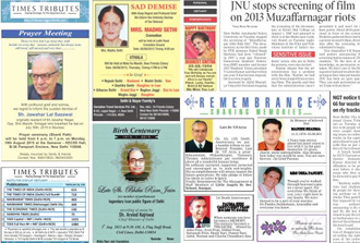 Times of India Ad Rates, Book Classified and Display Ad in